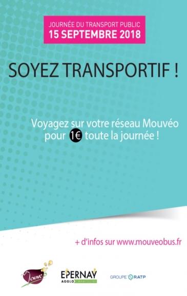 Journée Transport public 15 septembre 2018