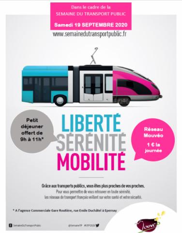 samedi 19 septembre 2020 : journée transport public