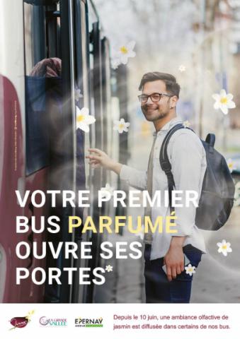 Bus parfumé : extension de l'expérimentation